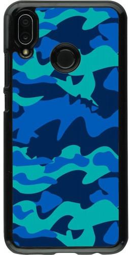 Coque Huawei P20 Lite - Camo Blue