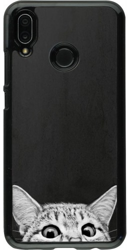 Coque Huawei P20 Lite - Cat Looking Up
