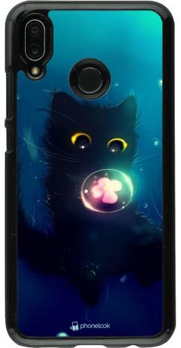 Coque Huawei P20 Lite - Cute Cat Bubble