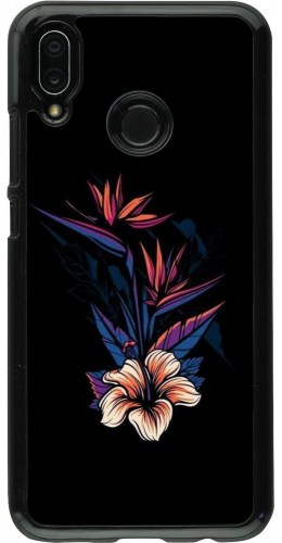 Coque Huawei P20 Lite - Dark Flowers
