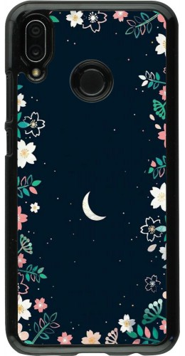 Coque Huawei P20 Lite - Flowers space