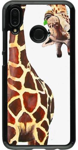 Coque Huawei P20 Lite - Giraffe Fit
