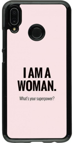 Coque Huawei P20 Lite - I am a woman