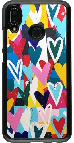 Coque Huawei P20 Lite - Joyful Hearts
