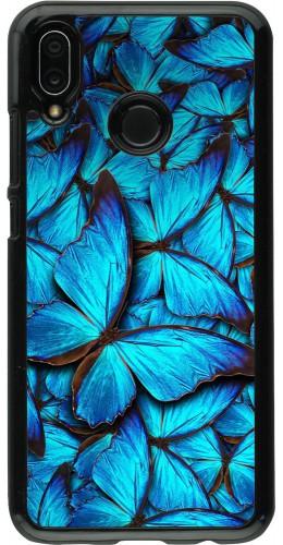 Coque Huawei P20 Lite - Papillon bleu