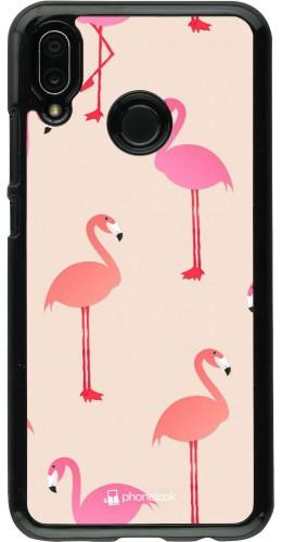 Coque Huawei P20 Lite - Pink Flamingos Pattern