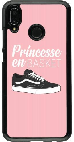 Coque Huawei P20 Lite - princesse en basket