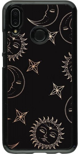 Coque Huawei P20 Lite - Suns and Moons