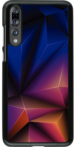 Coque Huawei P20 Pro - Abstract triangles