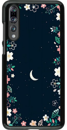 Coque Huawei P20 Pro - Flowers space