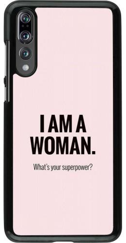 Coque Huawei P20 Pro - I am a woman