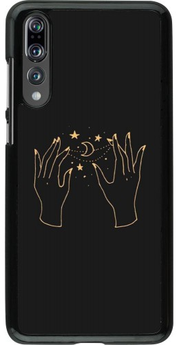 Coque Huawei P20 Pro - Grey magic hands