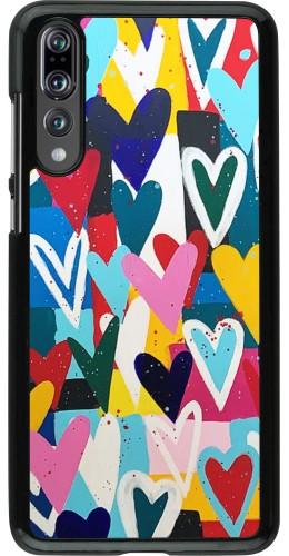 Coque Huawei P20 Pro - Joyful Hearts