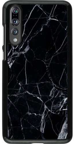 Coque Huawei P20 Pro - Marble Black 01