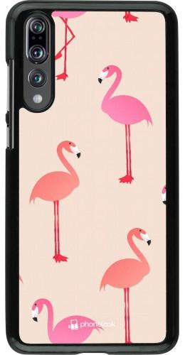 Coque Huawei P20 Pro - Pink Flamingos Pattern