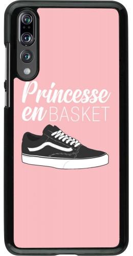 Coque Huawei P20 Pro - princesse en basket