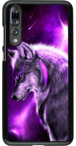 Coque Huawei P20 Pro - Purple Sky Wolf