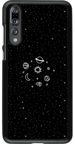 Coque Huawei P20 Pro - Space Doodle