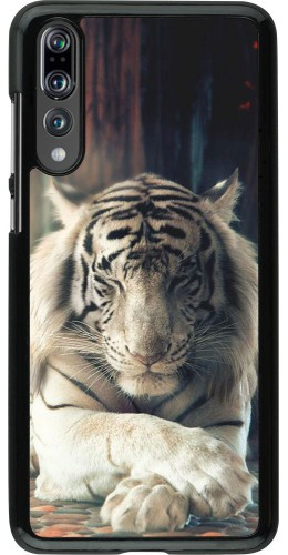 Coque Huawei P20 Pro - Zen Tiger