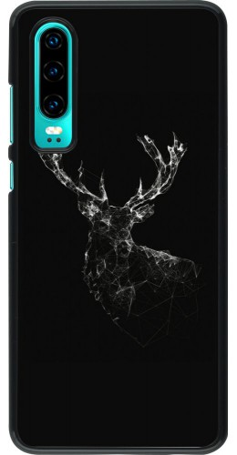 Coque Huawei P30 - Abstract deer