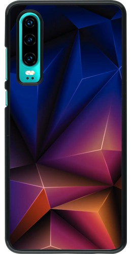Coque Huawei P30 - Abstract Triangles