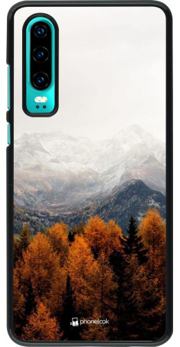 Coque Huawei P30 - Autumn 21 Forest Mountain