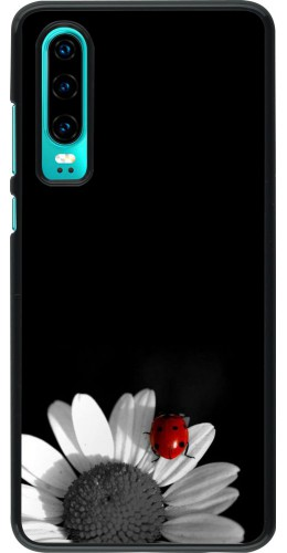 Coque Huawei P30 - Black and white Cox