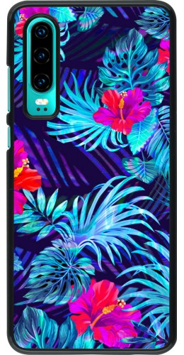 Coque Huawei P30 - Blue Forest
