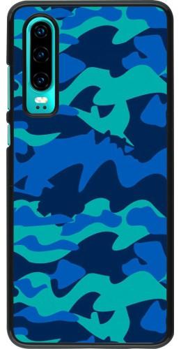 Coque Huawei P30 - Camo Blue