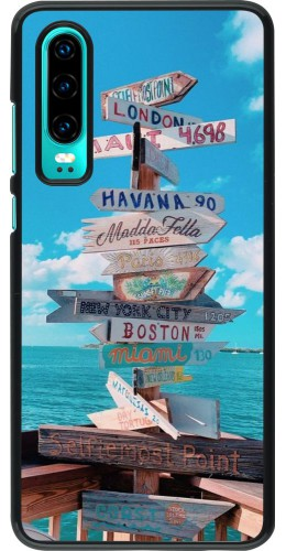 Coque Huawei P30 - Cool Cities Directions