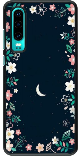 Coque Huawei P30 - Flowers space