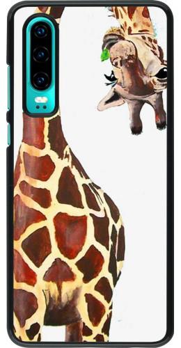 Coque Huawei P30 - Giraffe Fit