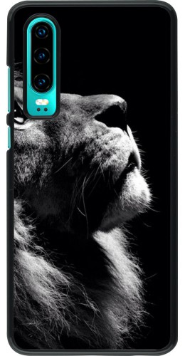 Coque Huawei P30 - Lion looking up
