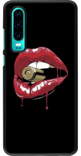 Coque Huawei P30 - Lips bullet