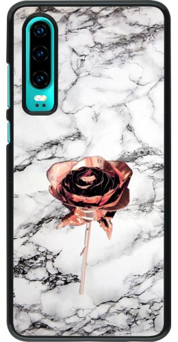 Coque Huawei P30 - Marble Rose Gold