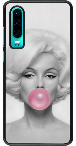 Coque Huawei P30 - Marilyn Bubble