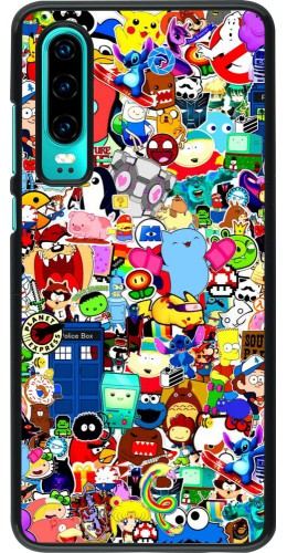 Coque Huawei P30 - Mixed cartoons