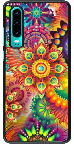 Coque Huawei P30 - Multicolor aztec