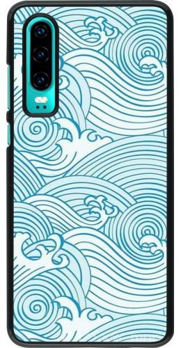 Coque Huawei P30 - Ocean Waves
