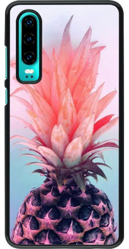 Coque Huawei P30 - Purple Pink Pineapple