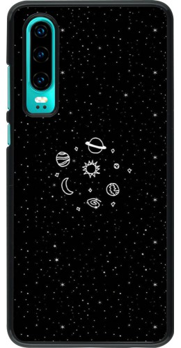 Coque Huawei P30 - Space Doodle