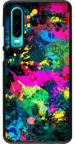 Coque Huawei P30 - splash paint