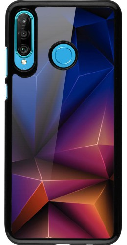 Coque Huawei P30 Lite - Abstract Triangles