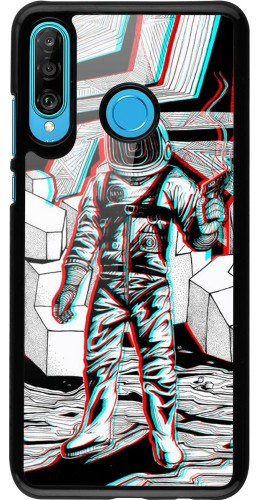 Coque Huawei P30 Lite - Anaglyph Astronaut
