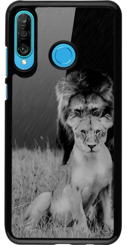 Coque Huawei P30 Lite - Angry lions