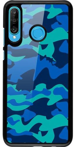 Coque Huawei P30 Lite - Camo Blue