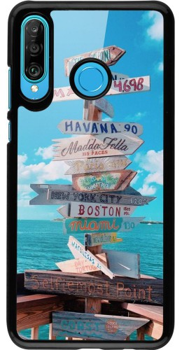 Coque Huawei P30 Lite - Cool Cities Directions