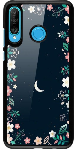 Coque Huawei P30 Lite - Flowers space