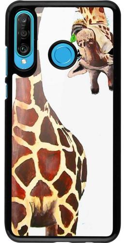 Coque Huawei P30 Lite - Giraffe Fit