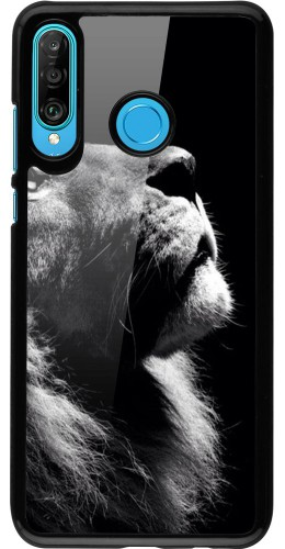 Coque Huawei P30 Lite - Lion looking up